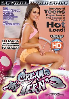 "Adult entertainment movie ""Cream In My Teen 3"" starring Abby Cross, Selma Sins & Gigi Loren. Produced by Lethal Hardcore."