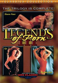 "Adult entertainment movie ""Legends Of Porn 3"" starring Samantha Fox, Ariel Knight & Gloria Leonard. Produced by Cal Vista Classic."