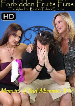 "Adult entertainment movie ""Memoirs Of Bad Mommies 17"" starring Raven LeChance, Jodi West & Trey Balls. Produced by Forbidden Fruits Films."