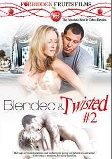 Blended And Twisted 2, starring Jodi West, Stella Bankxxx, Angie Noir, Jimmy Legend and Levi Cash, produced by Forbidden Fruits Films.
