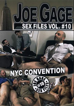 Joe Gage Sex Files 10: NYC Convention, starring George Spelvin, Ben Bach, Seth Roberts, David Chase, Shay (m), Adam Russo, Sven Norse and Jason Rock, produced by Dragon Media.