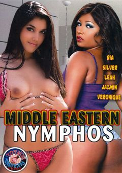 "Adult entertainment movie ""Middle Eastern Nymphos"" starring Leah Jaye, Rita & Roeher X.. Produced by Totally Tasteless Video."