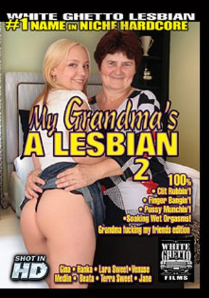 My Grandma's A Lesbian 2, starring Jane, Beata, Lara Sweet, Terra Sweet, Medlin, Hanka S., Venuse and Gina, produced by White Ghetto.