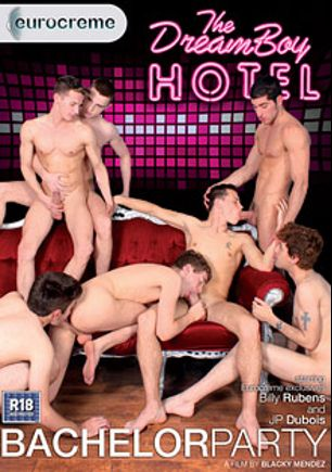 Bachelor Party, starring Mark Snow, Leo Domenico, Jonny Garcia, Brendan James, Billy Rubens, Darius Ferdynand and J.P. Dubois, produced by Eurocreme, Dreamboy Hotel and Eurocreme Group.