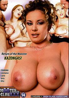 Hooters Club XXX 14: Return Of The Monster Kazongas, starring Terry Nova, Constance Devil, Silvy and Laura, produced by Hooters Club XXX.