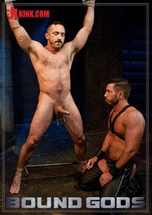 Bound Gods: Damien Stone, starring Damien Stone and Alessio Romero, produced by KinkMen.