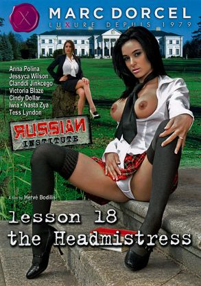 Straight Adult Movie Russian Institute Lesson 18: The Headmistress - French - front box cover