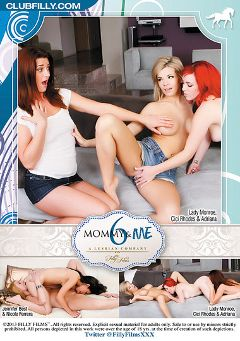 "Adult entertainment movie ""Mommy And Me 6"" starring Lady Monroe, Nicole Ferrera & Cici Rhodes. Produced by Filly Films."