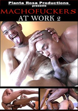 Machofuckers At Work 2, starring Sexy Red (m), Slayer, Baby Face (m), Big Beef, Carlito, Smart, Quawn, Marco Cruise, Robby Mendez and Antonio Biaggi, produced by Machofucker Studio.