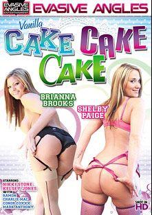 Vanilla Cake Cake Cake, starring Shelby Paige, Brianna Brooks, Conor Coxxx, Kelsey Jones, Charlie Mack, Ramon Nomar, Nikki Stone and Mark Anthony, produced by Evasive Angles.