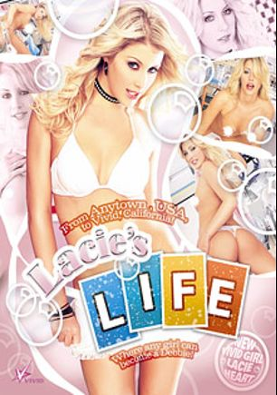 Lacie's Life, starring Lacie Heart, Jerry Kovacs, Jean Val Jean, Joey Valentine, Jenna Presley, Tommy Gunn, James Deen, Kurt Lockwood, Sativa Rose and Paul Thomas, produced by Vivid Entertainment.