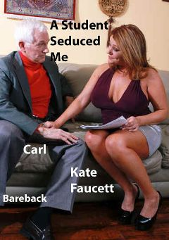 "Adult entertainment movie ""A Student Seduced Me"" starring Kate Faucett & Carl Hubay. Produced by Hot Clits Video."