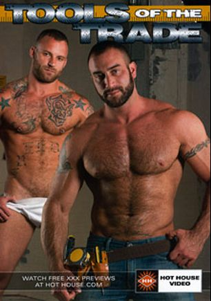 Tools Of The Trade, starring Spencer Reed, Derek Parker, Trenton Ducati, Tate Ryder, Topher DiMaggio, Jimmy Durano and Justin Beal, produced by Falcon Studios Group and Hot House Entertainment.