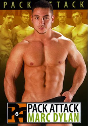Pack Attack 6: Marc Dylan, starring Brian Bonds, Spencer Fox, Marc Dylan, Kris Anderson and Jimmy Durano, produced by Falcon Studios Group and Hot House Entertainment.