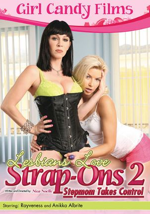 Straight Adult Movie Lesbians Love Strap-Ons 2: Stepmom Takes Control
