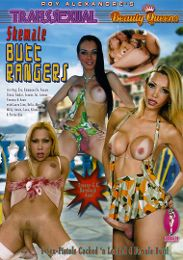 "Just Added presents the adult entertainment movie ""Transsexual Beauty Queens: Shemale Butt Rangers""."