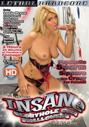 """Just Added presents the adult entertainment movie """"Insane Gloryhole Cum Swallowers""""."""