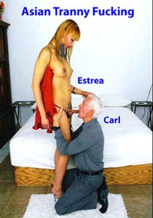 Asian Tranny Fucking, starring Estrea Jen and Carl Hubay, produced by Hot Shemales Video.
