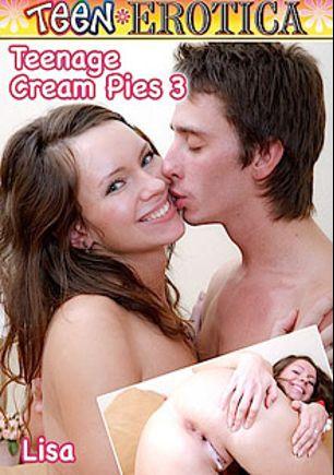Teenage Cream Pies 3, starring Bonny Anderson, Jenya G., Amber Daikiri, Ludmila Jay and Tanata, produced by Teen Erotica.