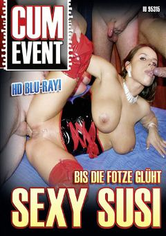 "Adult entertainment movie ""Cum Event: Bis Die Fotze Gluht Sexy Susi"" starring Sexy Susi. Produced by MEGA-FILM."
