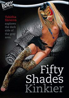 Fifty Shades Kinkier, starring Tabitha Stevens, James Deen, Cheyne Collins and Blake Richards, produced by Baby Doll Pictures and K-Beech.