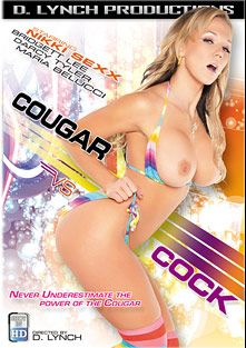 Cougar VS Cock, starring Nikki Sexx, Darcy Tyler, Violet Monroe, Bridgett Lee, Barry Scott and Maria Bellucci, produced by DVSX.