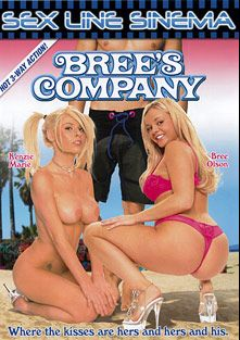 Bree's Company, starring Kenzi Marie, Bree Olson, Reno D'angelo, Stephanie Sage, Brooke Belle, Rachel Roxx, Jay Huntington, Cheyne Collins and Lee Stone, produced by K-Beech and Sex Line Sinema.