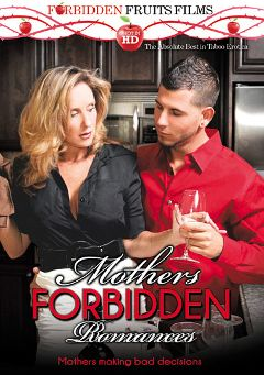 "Adult entertainment movie ""Mothers Forbidden Romances"" starring Jodi West, Jodie Stacks & Jimmy Legend. Produced by Forbidden Fruits Films."