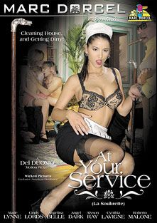 At Your Service, starring Keana Moire, Angel Dark, Horst Baron, Marie Lyne, Cynthia Lavigne, Titof, Alyson Ray, Phil Holiday, Cindy Lords, J.P.X., Philippe Dean and Roberto Malone, produced by Marc Dorcel and Marc Dorcel SBO.