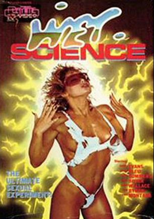 Wet Science, starring Bunny Bleu, Candi Evens, Marc Wallice, Blake Palmer, Karen Summer, Erica Boyer, Tony Montana and Tom Byron, produced by Alpha Blue Archives.