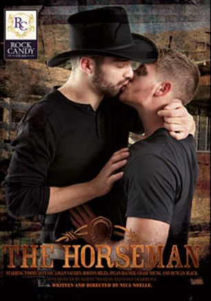 The Horseman, starring Boston Miles, Tommy Defendi, Duncan Black, Logan Vaughn, Chase Young, Dylan Hauser, Dana DeArmond and Samantha Ryan, produced by Rock Candy Films.