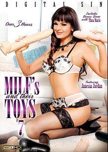 Milfs And Their Toys 7, starring Janessa Jordan, J. Love (f), Allysin Wonderland, Bella-Nikole Black, Nora Noir, Jennifer Best and Thea Marie, produced by Digital Sin.