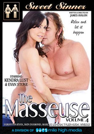 The Masseuse 4, starring Kendra Lust, Tyler Nixon, Skin Diamond, Marcus London, Samantha Ryan and Evan Stone, produced by Mile High Media and Sweet Sinner.