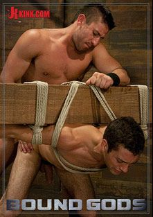 Bound Gods: Logan Scott Gets Tied Up And Worked Over For The First Time, starring Logan Scott and DJ, produced by KinkMen.
