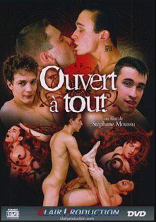 Ouvert A Tout, starring Jess (m), Tom, Max, Lucky (m), Nick, John, Chris, Martin *, Fifty, Jose and Matt, produced by Vimpex Gay Media and Clair Productions.