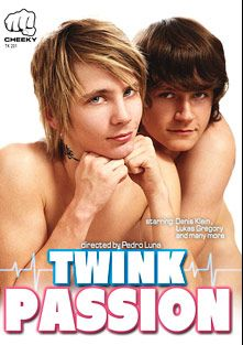 Twink Passion, starring Lukas Gregory, Denis Klein, Tim Sears, Jack Dawson, Steve Johanson, Chance Smith, Pavel Lindr and Miguel Antonio, produced by Hammer Entertainment.