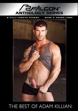 The Best Of Adam Killian, starring Adam Killian, Lucas Young, Gavin Waters, Landon Conrad, Samuel Colt, Trent Davis, Derrek Diamond, Jayden Grey, Leo Giamani, Ty Colt, Zeb Atlas and Tony Buff, produced by Falcon Studios and Falcon Studios Group.
