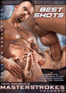 Masterstrokes 10: Best Shots, starring Parker Perry, Aybars, Alexsander Freitas, Draven Torres, Junior Stellano, Angelo Marconi, Bruno Bond, Logan McCree, Vinnie D'Angelo, Damien Crosse and Tom Wolfe, produced by Raging Stallion Studios and Falcon Studios Group.