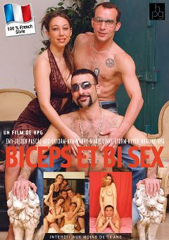 "Adult entertainment movie ""Biceps Et Bi Sex"" starring Julien Pascal, Warny & Quidan. Produced by HPG Production."