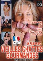 "Just Added presents the adult entertainment movie ""Vieilles Chattes Gourmandes""."