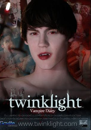 Twinklight Vampire Diary, starring Alex Todd, Jason Alcok, Jae Landen, Elijah White, Kain Lanning, Jonathan Cole, Brice Carson, Jayden Ellis, Tyler Bolt, Chad Fitch and Krys Perez, produced by GayLifeNetwork and PornPlays.