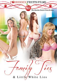 "Adult entertainment movie ""Family Ties And Little White Lies"" starring Jean Taylor, Desi Dalton & Kennedy Leigh. Produced by Forbidden Fruits Films."