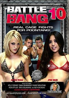 "Adult entertainment movie ""Battle Bang 10"" starring Jynx Maze, Alexis Texas & Keni Styles. Produced by Antigua Pictures."