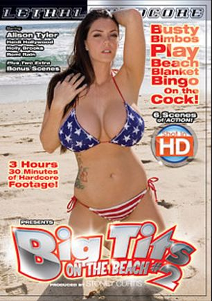 Big Tits On The Beach 2, starring Alison Tyler, Romi Rain, Holly Brooks, Heidi Hollywood and Billy Glide, produced by Lethal Hardcore.