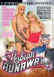 "Just Added presents the adult entertainment movie ""Lesbian Runaways""."