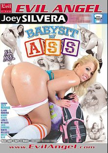 Babysit My Ass Part 2, starring Luna Kitsuen, Nikita Bellucci, Zoey Monroe, Kimmy Olsen, Dahlia Sky, Skin Diamond, Claire Robbins, Christian XXX, James Deen, Kurt Lockwood and Tom Byron, produced by Evil Angel and Joey Silvera Video.