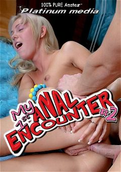 "Adult entertainment movie ""My 1st Anal Encounter 2"" starring Chiara, Holly (Platinum Media) & Julie (Platinum Media). Produced by Platinum Media."