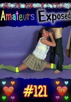 "Adult entertainment movie ""Amateurs Exposed 121"". Produced by European Productions."