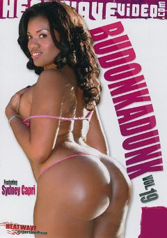 "Adult entertainment movie ""Budonkadunk 19"" starring Sydnee Capri, Julius (f) & Jon Jon. Produced by Heatwave Entertainment."