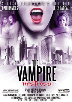 "Adult entertainment movie ""The Vampire Mistress"" starring Dani Daniels, Brittney Banxxx & Lily Labeau. Produced by Exile Productions."